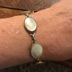 Whiting & Davis MOP bracelet